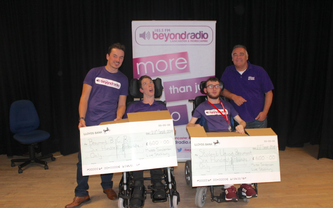 Students raise £1200 at Party Night supported by Beyond Radio