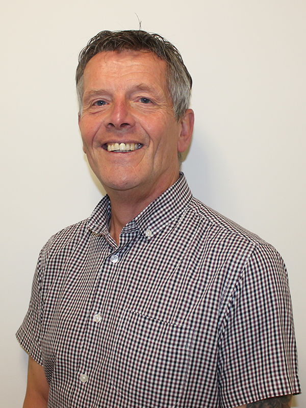 Mick Bateson,  Facilities & Health and Safety Manager