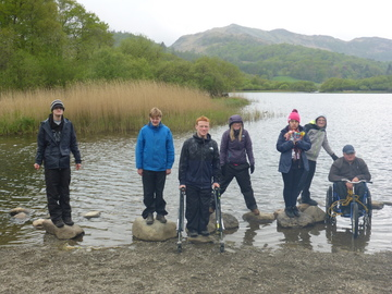 Students on the road to Duke of Edinburgh success